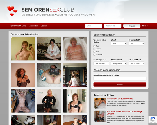 Senioren Sex Club